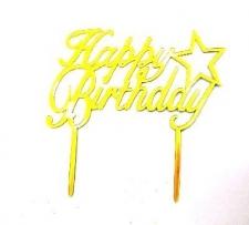 CAKE TOPPER GOLD