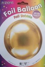 24 INCH 4D REGULAR METALLIC GOLD