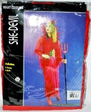 HALLOWEEN COSTUME DEVIL FEMALE GIRLS