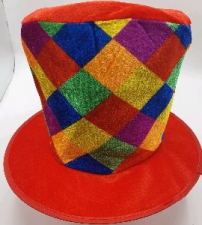HAT MAD HATTER MULTICOLOUR CHECKED