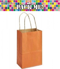 PARTY BAGS CRAFT BROWN 8s