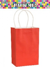 PARTY BAGS RED 8s