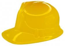 HAT CONSTRUCTION PLASTIC YELLOW