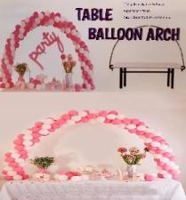 BALLOON DECOR ARCH FOR TABLE 1.8 x 2.5m