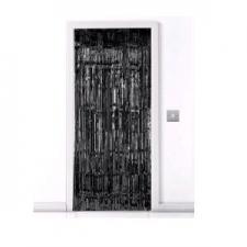 DOOR CURTAIN BLACK 1 X 2M