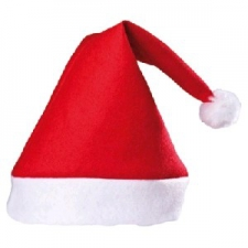 CHRISTMAS HAT DELUX PLAIN