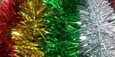 CHRISTMAS TINSEL 2M ASSORTED
