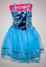 PRINCESS DRESS TURQUOISE