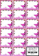 PARTY BOX STICKERS SUPERHERO FEMALE 17'S