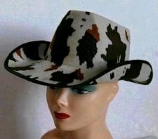 HAT COWBOY COW HAT