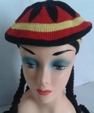 WIG RUSTA BEANY WITH BRAIDS