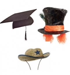 HATS FOR DRESS UP THEMES